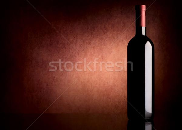 Bottle with wine Stock photo © Givaga