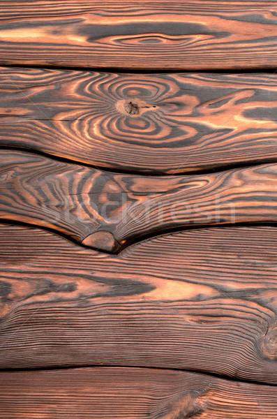 Old wooden board vertica Stock photo © Givaga