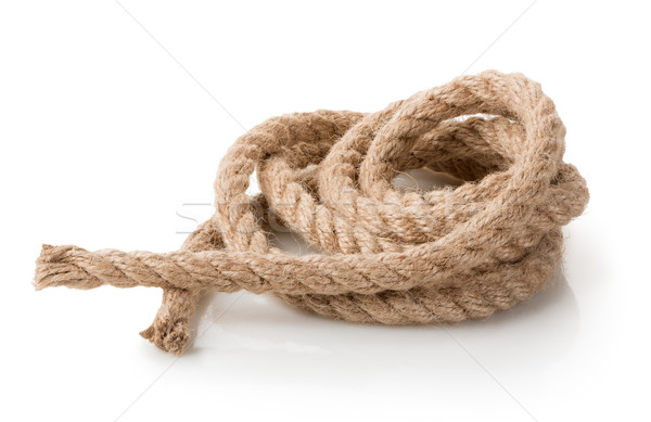 Coil of rope Stock photo © Givaga