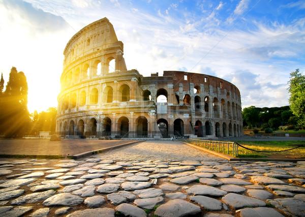Colosseum in Rome Stock photo © Givaga