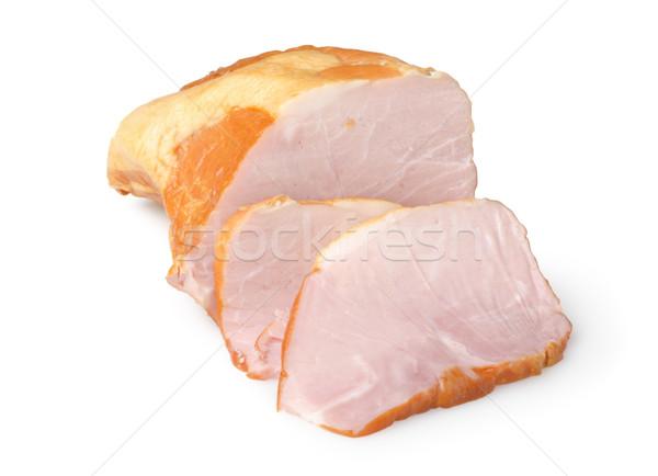 Sliced ham Stock photo © Givaga