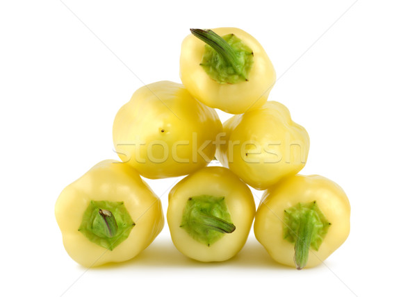 Ripe yellow peppers Stock photo © Givaga