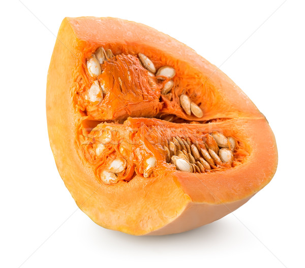Pumpkin with seeds Stock photo © Givaga