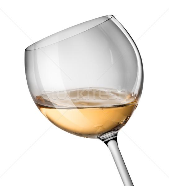 Wave in wine glass Stock photo © Givaga