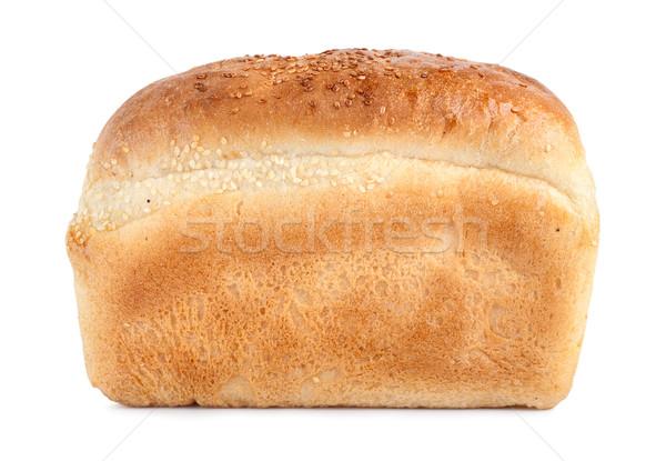 Pão pão isolado branco Foto stock © Givaga