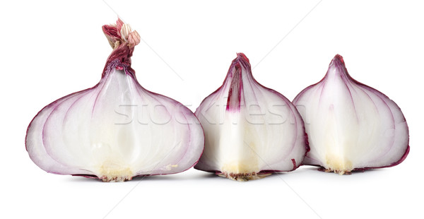 Sliced red onions Stock photo © Givaga