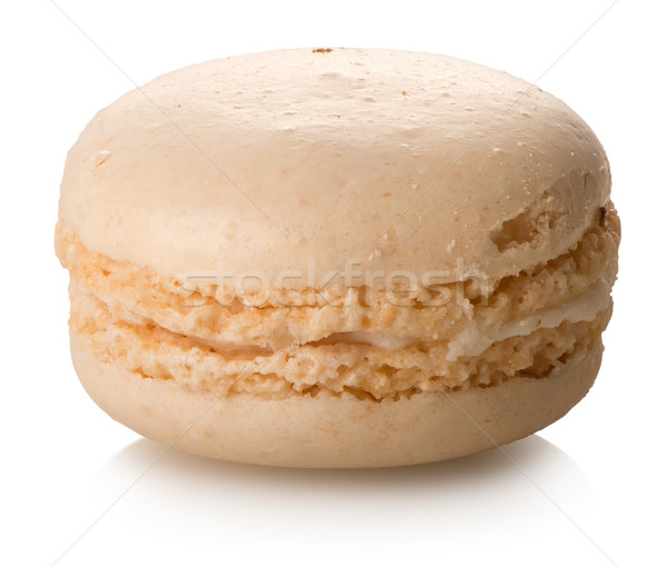 Coco macaron isolado branco comida bolo Foto stock © Givaga