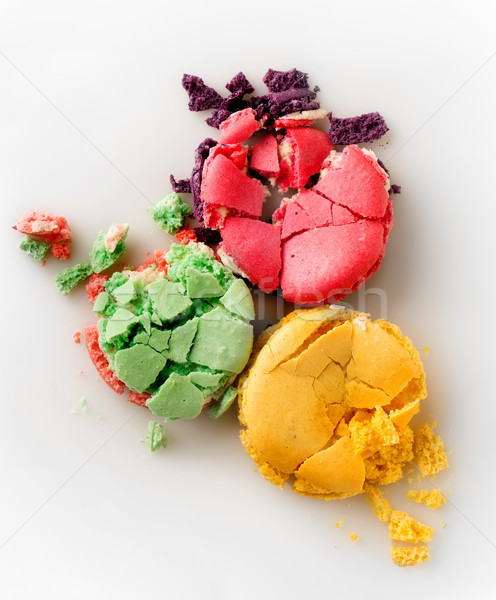 Three squashed macarons Stock photo © Givaga