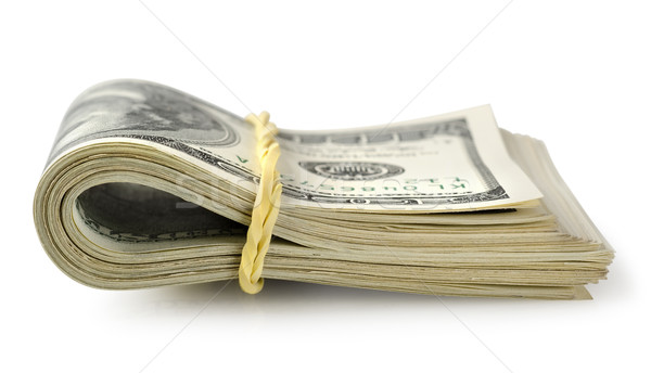 Bundle of money isolated Stock photo © Givaga