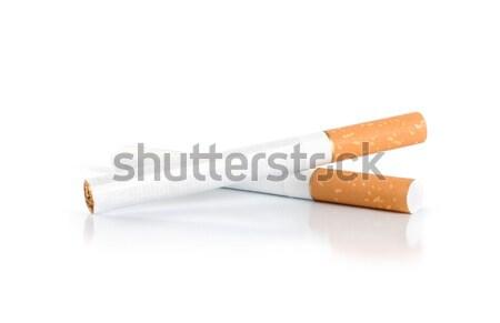 Four cigarettes (Path) Stock photo © Givaga