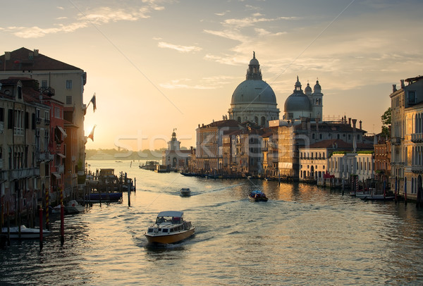 Calm sunset in Venice Stock photo © Givaga
