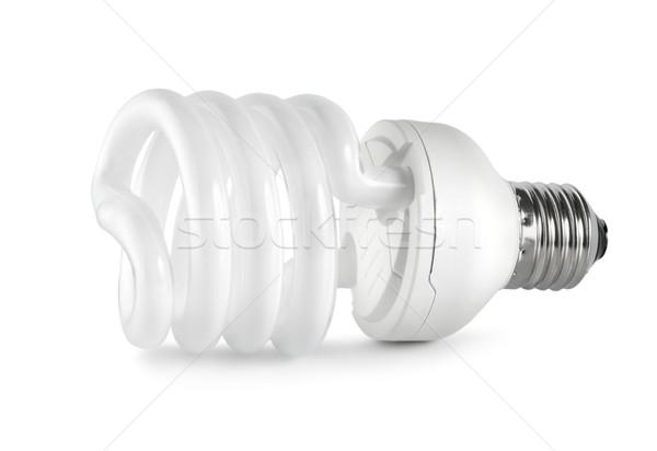 Energia takarékosság fluoreszkáló villanykörte út kompakt Stock fotó © Givaga