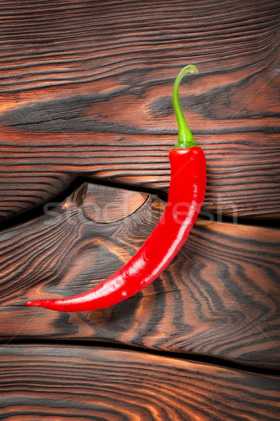 Red chili pepper Stock photo © Givaga