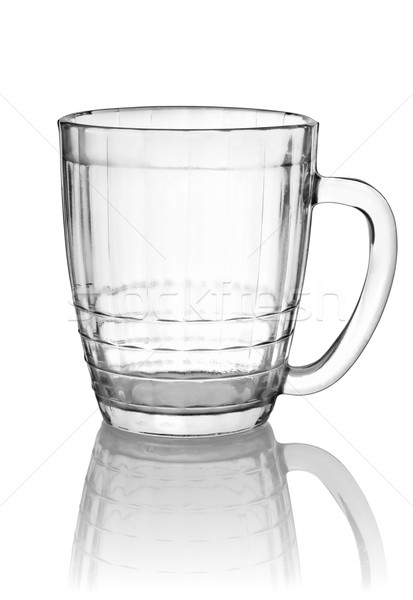 Empty big beer glass Stock photo © Givaga
