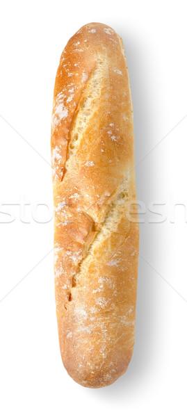 Baguette vers geïsoleerd witte voedsel ontbijt Stockfoto © Givaga