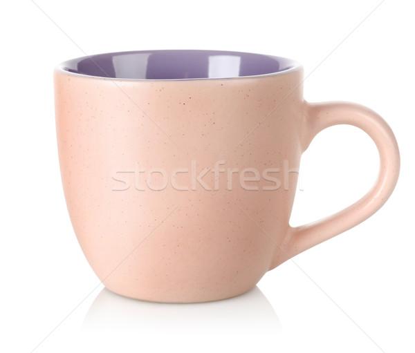 сирень Кубок изолированный белый кофе пить Сток-фото © Givaga