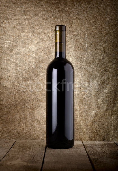 Bottle of red wine Stock photo © Givaga