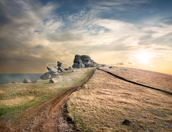 Road to Demerji Stock photo © Givaga