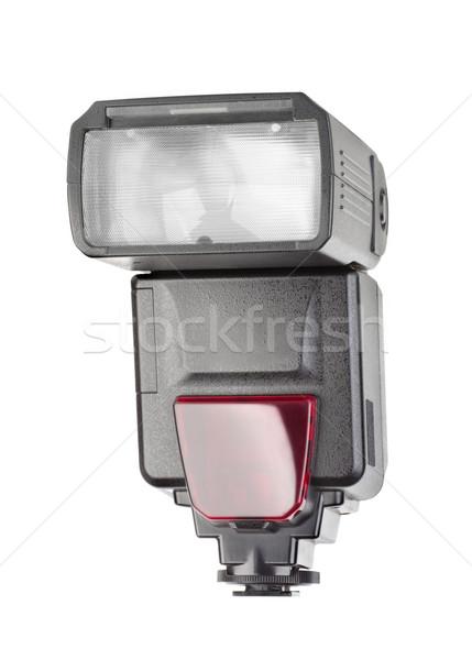 Fotoğraf flaş yalıtılmış beyaz teknoloji lamba Stok fotoğraf © Givaga