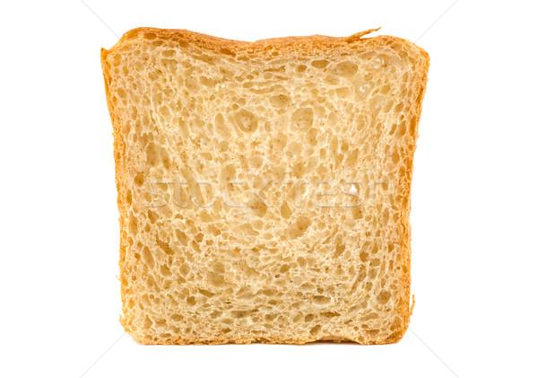 Fehér kenyér izolált friss fehér Stock fotó © Givaga