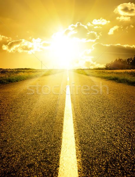 Road to sun Stock photo © Givaga