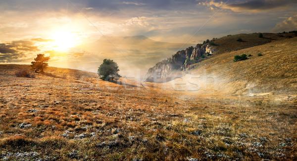 Autumn mountains Stock photo © Givaga