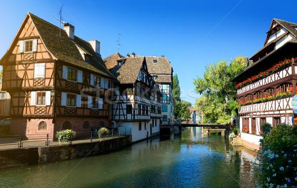 Petite France Strasbourg Stock photo © Givaga
