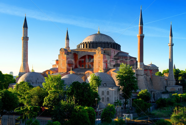 Hagia Sophia in summer Stock photo © Givaga