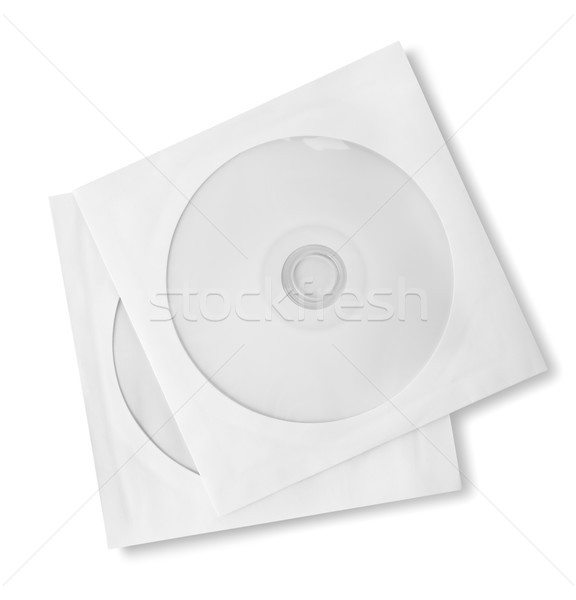 CD and paper case Stock photo © Givaga