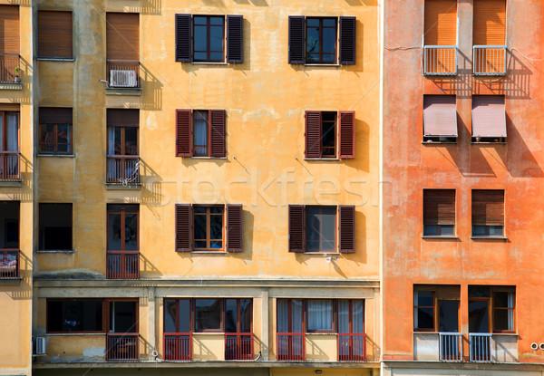 家 フィレンツェ 古い 壁 ストックフォト © Givaga