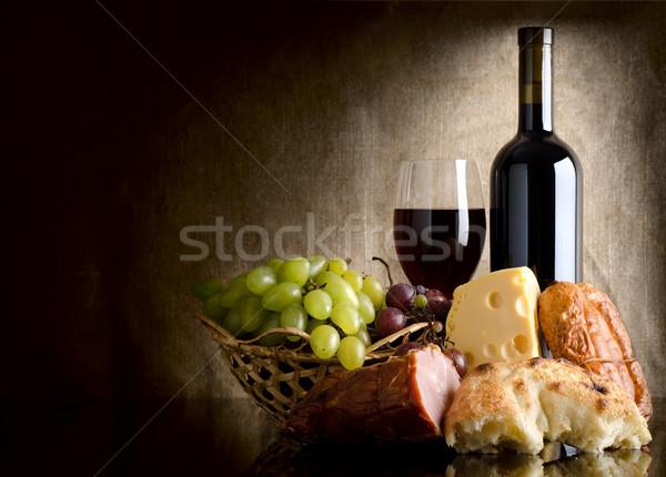 Wine and food Stock photo © Givaga