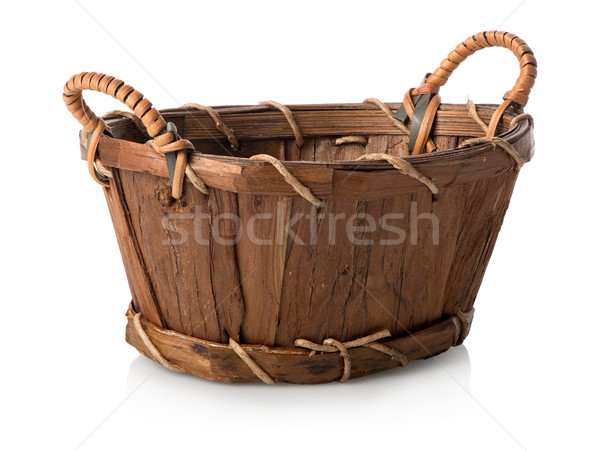 Wicker basket Stock photo © Givaga