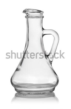Empty decanter Stock photo © Givaga