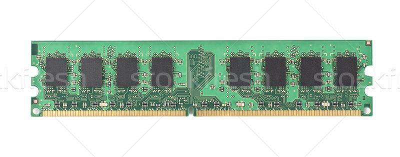 Computer memory chip Stock photo © Givaga