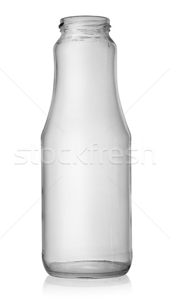 стекла банку пусто изолированный белый контейнера Сток-фото © Givaga