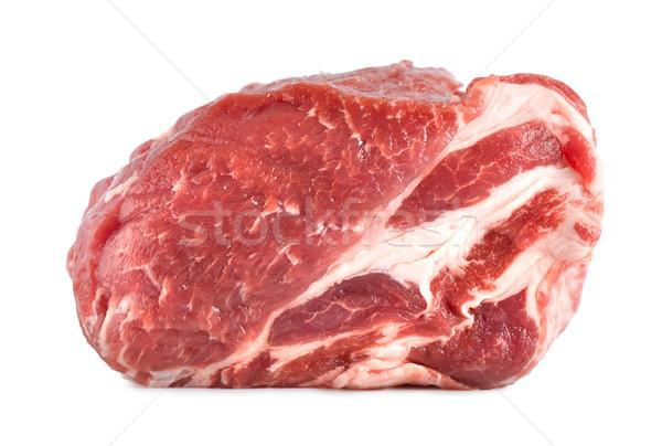 Pork tenderloin isolated Stock photo © Givaga