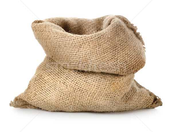 Empty burlap sack Stock photo © Givaga