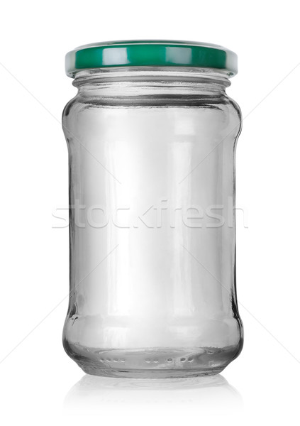 Glass jar with lid Stock photo © Givaga