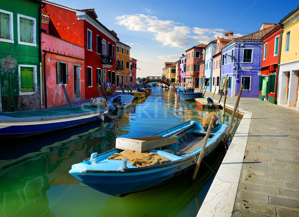 Summer in Burano Stock photo © Givaga