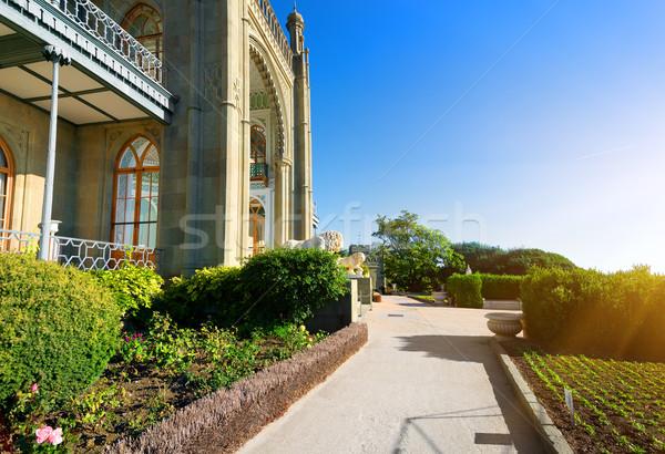 Palace park Stock photo © Givaga