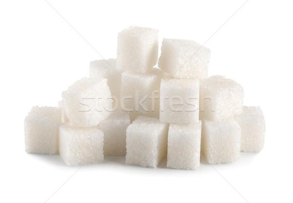 Azúcar cubo aislado blanco Foto stock © Givaga