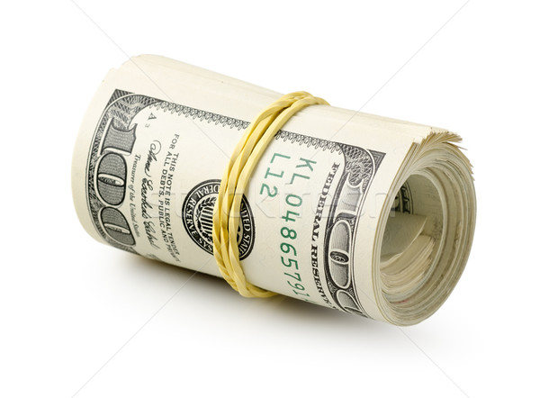Roll of dollars Stock photo © Givaga