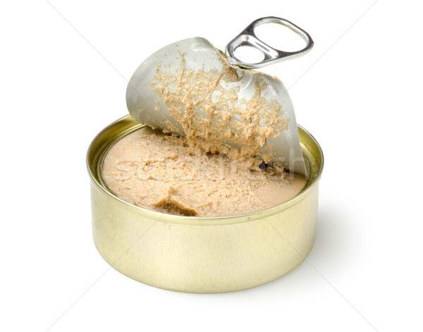 Canned pate Stock photo © Givaga