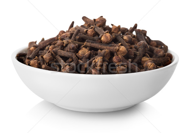 Clove in plate Stock photo © Givaga