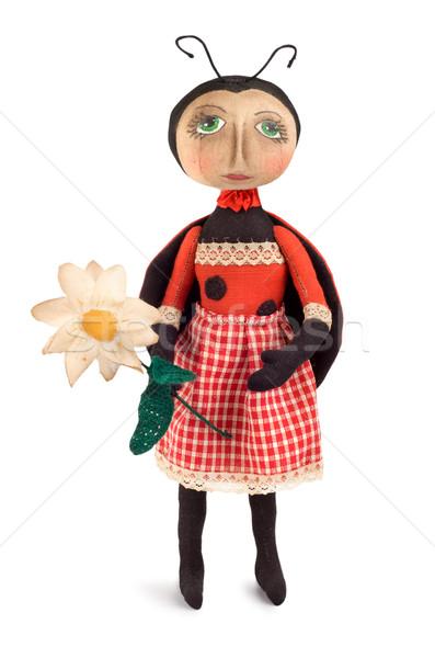 Soft toy ladybird Stock photo © Givaga