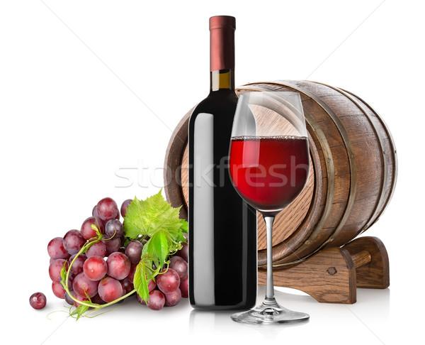 Grape and wine Stock photo © Givaga