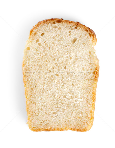 Piece of white bread Stock photo © Givaga