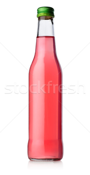 Bottle of red alcohol Stock photo © Givaga