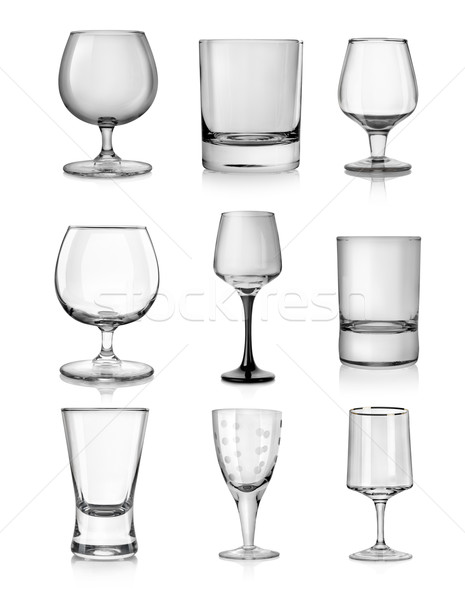 Goblets for hard liquors Stock photo © Givaga