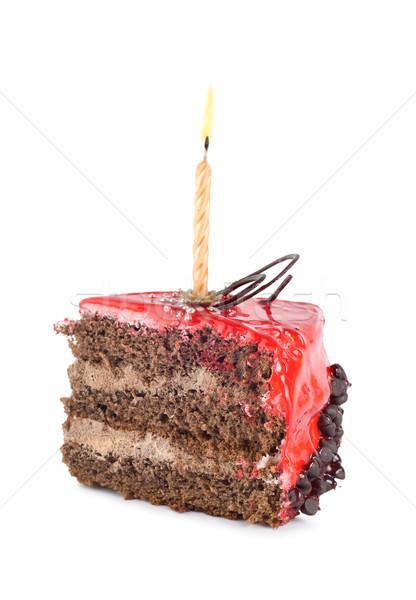ストックフォト: 歳の誕生日 · 孤立した · 白